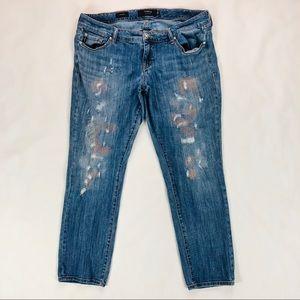 Torrid Women's Jeans Sz 16 Boyfriend Distressed